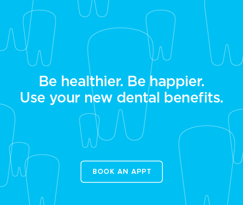 Be Heathier, Be Happier. Use your new dental benefits. - South Lake Union Dentist Office