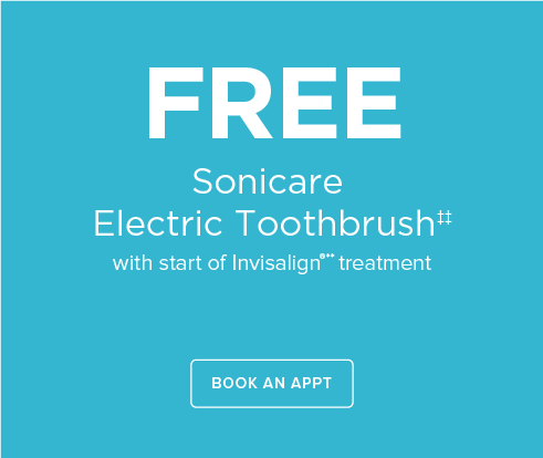 South Lake Union Dentist Office - Sonicare Tooth Brush Offer